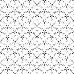Seamless pattern line star decoration abstract vector background design