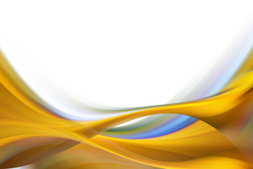 Yellow Ochre Abstract Background