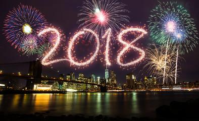 2018 New Year at New York