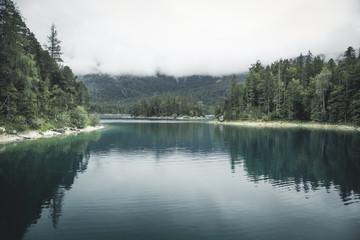 Eibsee, Garmisch Partenkirchen, Bayern Alps, Germany