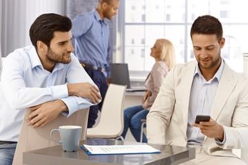 Businessmen portrait in office