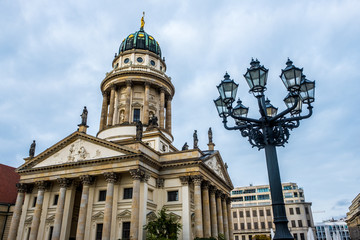 The French Cathedral on the Gendarmenmarkt in Berlin, Germany