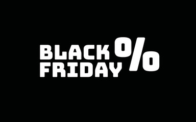 Black Friday Rabatte Prozentzeichen