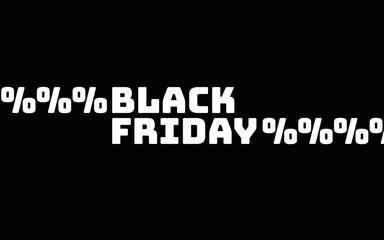 Black Friday Rabatte Prozentzeichen