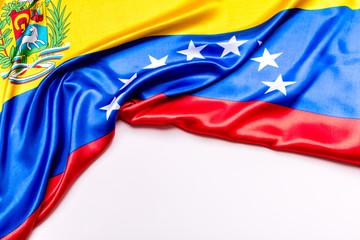 Authentic flag of the Venezuela