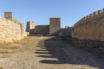 Gormaz Castle is a Muslim fortress in Soria Province, Castile and Leon, Spain