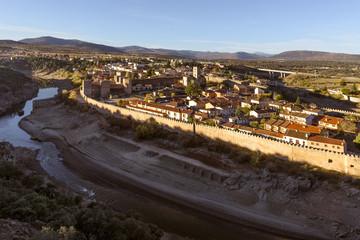 Panoramic view of  Buitrago del Lozoya, Madrid, Spain