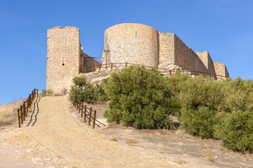 Jadraque Castle, also known as Cid Castle, Castilla-La Mancha, Spain