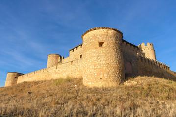 Almenar Castle, Soria Province, Castile and Leon, Spain