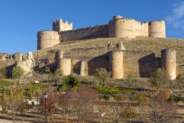 Berlanga de Duero Castle, Soria Province, Castile and Leon, Spain