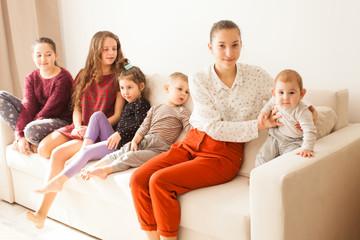 Big family of siblings