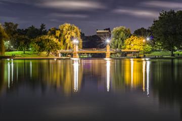 Parque de noche / park at night