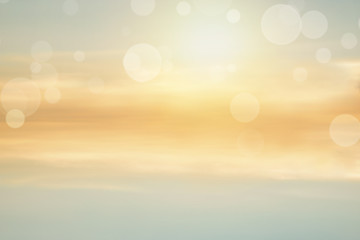 Soft blur abstract color of nature background