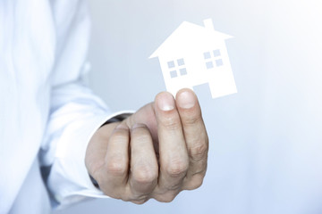 mano, casa, immobiliare