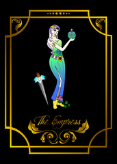 the empress card