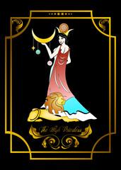 the priestess card