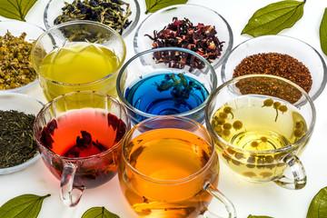 綺麗になるハーブティー Beautifully made herbal tea