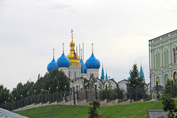 Deurstickers view of the Annunciation Cathedral