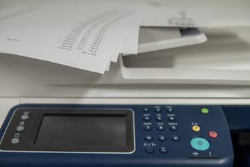 multi function copier in office