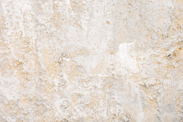 Gray white abstract stucco coated cement wall background texture