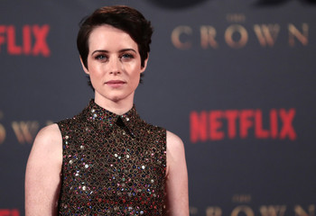 "Actor Claire Foy, who plays Queen Elizabeth II, attends the premiere of ""The Crown"" Season 2 in London"