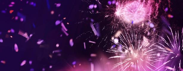 feuerwerk glitzer konfetti