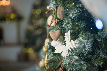christmas decorations christmas tree gifts new year - Videos Of Decorated Christmas Trees