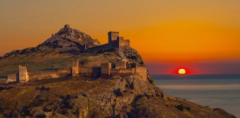 Genoa fortress in Crimea Fototapete