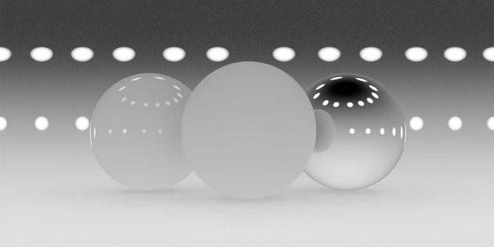 Surround diffuse spotlight