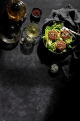Salmon Cake/Kebab - Lunch