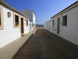 El Rompido en Cartaya, puerto de Huelva ( Andalucia, España)