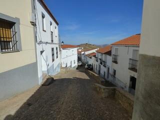 Feria. Pueblo de Badajoz (Extremaura, España)