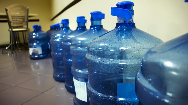 A gallon of water