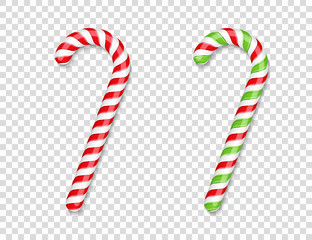 Red and Green Candy Canes