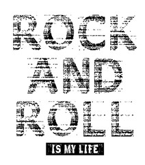 rock and roll is my life