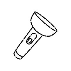 Flashlight isolated symbol