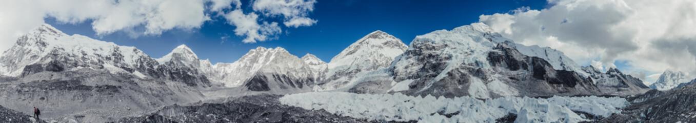 Himalaya mountains view, Sagarmatha national park, Nepal.