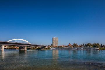 Kehl am Rhein-Straßburg Europa Brücke
