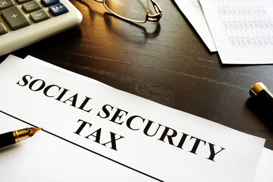 Papers with title social security tax.
