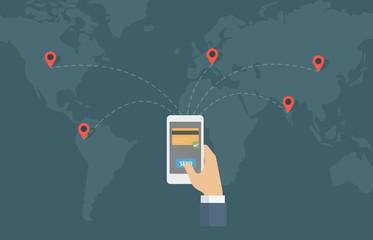 Online Money Transfer Around The World.