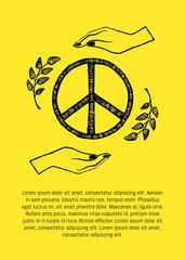 International Peace Day Vector Illustration