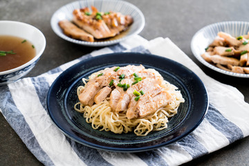 roast chicken noodle