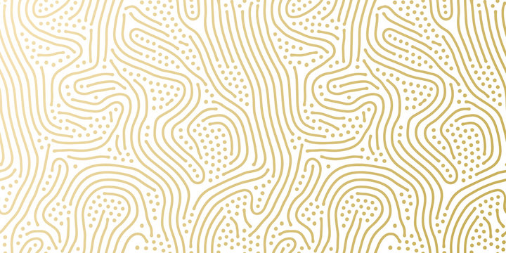 Christmas holiday golden background template for greeting card or wrapping paper design. Vector gold and white dotted pattern for Christmas or New Year wrapper seamless golden confetti background