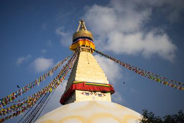 Bodhnath Stupa in Nepal