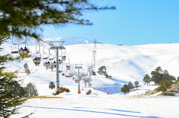 winter vacation for skiing and snowboarding