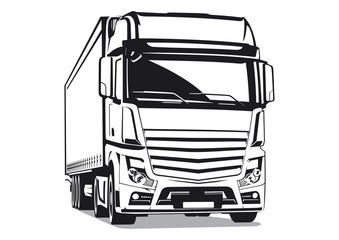 Commercial transport illustration