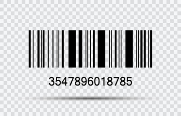 bar code stock vector illustration isolated on white background