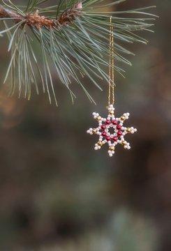Weihnachts Ornament Stern