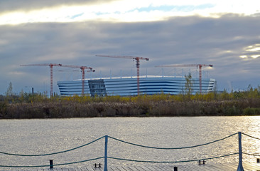 Baltic Arena stadium for holding games of the FIFA World Cup of 2018. Kaliningrad