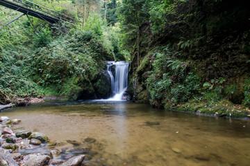 Ein schöner Wasserfall im Schwarzwald